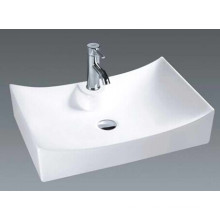 Low Price Ceramic Countertop Bathroom Basin (7097)