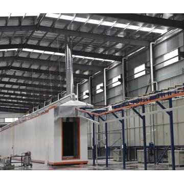 Производственная линия для обработки металлических поверхностей по индивидуальному заказу