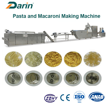 Macaroni / Pasta Plant Machine, Single Screw Extrusion