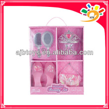Girl set toy,Decoration make up set, shoes toys,crown toy,mirror toy,comb toy&handbag