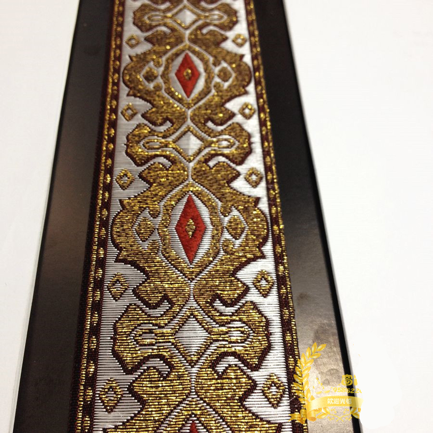 Woven Ribbon Embroidery