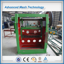 High efficiency galvanized metal mesh machine