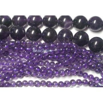 Perles d'améthyste pierres précieuses en vrac