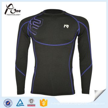 Vestuário de desporto com manga comprida reflexiva para homem