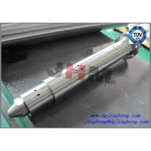 18mm máquina de moldeo por inyección vertical barril