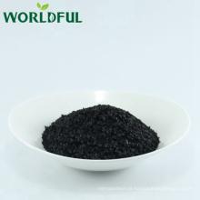 Flake brilhante do humate do potássio solúvel em água de 100%, leonardite do nível superior, humate do potássio