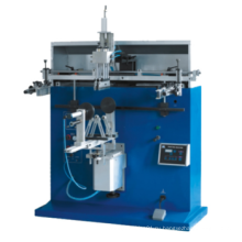 Прямая фабрика Пневматическая настольная машина для шелкографии для ковша / бутылки / стаканы / огнетушителя