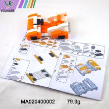 Criativo Diy Building Block Modelo Educacional Brinquedos