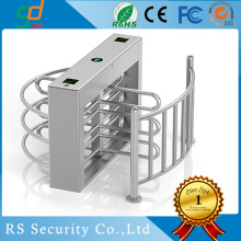 180 Degree Entrance And Exit Half Height Turnstile