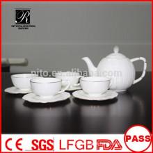 P & T 2015 neues Produkt 15pcs Knochen China Tee-Set Kaffee-Set
