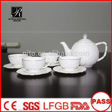 P&T 2015 new product 15pcs bone china tea set coffee set