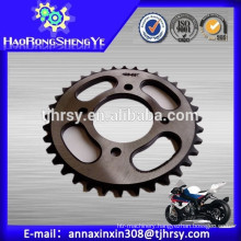 Harden teeth Motorcycle sprocket for CG125 with low price