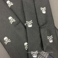Mens Silk Jacquard Custom Skull Fashion Tie Manufacturers