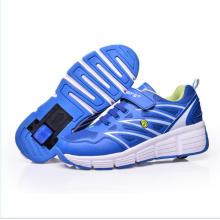 Zapatillas deportivas chicas de los niños de los muchachos de los nuevos niños ligeros Eelys Roller Skate Shoes