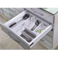 Kitchen Cutlery Tray Insert Grey