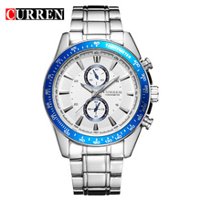 Stainless Steel Band Luxury Quartz Men Watches