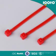 Attaches de câble en nylon noir de haute qualité PA66