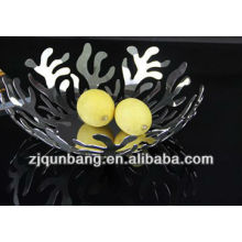 New Coral stype Stainless Steel Fruit Basket/Fruit Tray/Vegetable Basket