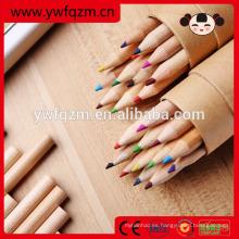 Venta caliente Niños mini lápiz de madera de color