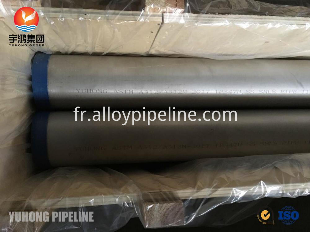 Stainless Steel Seamless Pipe Astm A312 Tp347347h A213 Tp347h A269 Tp347h