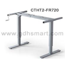 2016 manivela manual de elevação ajustável sit-stand mesa técnica
