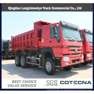 Carro de descarga de la capacidad de Sinotruk HOWO 18-20cbm 6X4