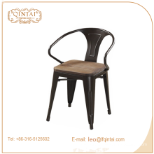 china stackable metal armest cafe Triumph bar bistro chairs