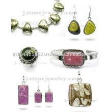 Индийская Мода Стерлингового Серебра 925 Ювелирных Изделий Для Женщин