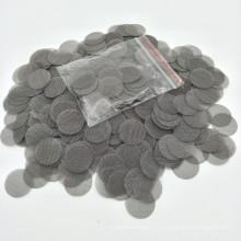 Los filtros del metal de los accesorios del ahumado del tabaco del acero inoxidable de la gasa 19MM cupieron para el tubo de agua 100X