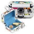 Beautiful Aluminium Jewelry Box for Lady