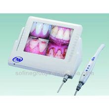 Câmera oral dental intra-oral com LCD de 8 polegadas, câmera de endoscópio dental