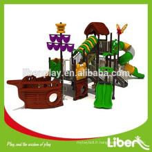 China Liben Hot Sale Outdoor Plastic Pirate Ship Playground