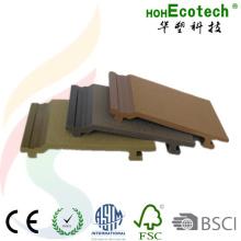 Revestimiento compuesto de madera WPC del panel de pared del plástico