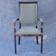 Black Tube and Comfortable Armrest Restaurant Chair (YC-E65-05)