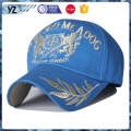 high quality caps and hats multicolor custom LOGO gold thread embroider design baseball cap man hat