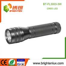 Factory Supply 3 * AAA batterie Powered OEM Small Portable cree xpe 3w led lampe de poche en aluminium