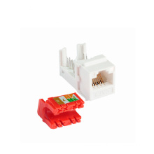 Быстрая передача UTP rj45 cat 6 female keystone jack