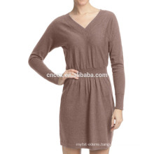 15JWT0113 woman summer cotton cashmere sweater dress