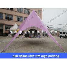 cheap star tents with printing for sale
