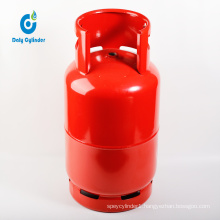 High Quality 45kg Empty South America LPG Gas Cylinder with Valve