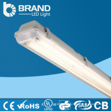 Fábrica de China hacen al por mayor blanco caliente CE ABC y claro cubierta tubo luminaria
