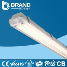 Fábrica da China faz atacado branco quente CE CE e claro tampa tubo luminária