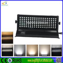 waterproof 108 watt rgb led wall wash lamp