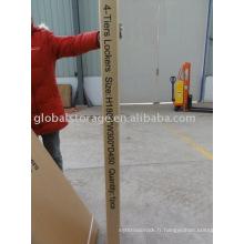 paquet de carton d'exportation pour le casier en acier