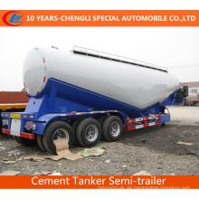 3achs-Massen-Zement-Behälter-halb Anhänger-Massen-Zement-halb Anhänger