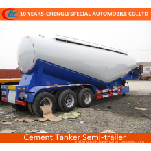 3axles Bulk Cement Tank Semi Trailer Bulk Cement Semi Trailer