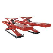 in-ground car scissor lift with mini scissor lift for wheel alignment/large scissor lift