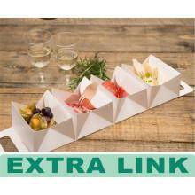 2016 уникальный дизайн пользовательские одноразовые быстро еда печенье жареная пища Дисплей контейнер еды бумаги вывезти коробки