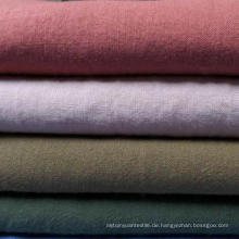 55% Ramie 45% Baumwolle Blended Gewebe 21s Plain Cotton Ramie Stoff