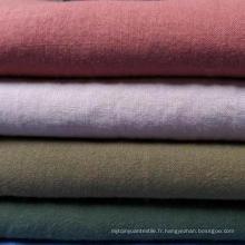 21s 55% Ramie + 45% Tissu en coton pour chemise
